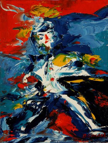 Abstraction bernard vincent et la peinture abstraite for Abstraction geometrique peinture