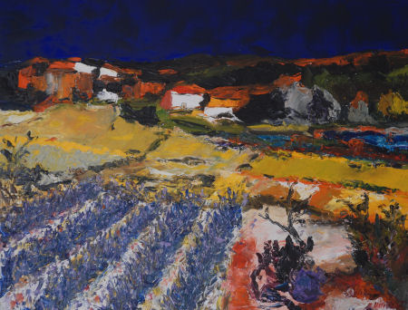 tableaux provence luberon calanques Cassis