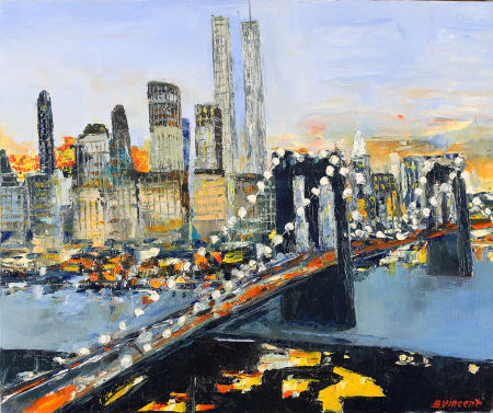 peintre ville new york
